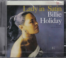 CD 17T BILLIE HOLIDAY LADY IN SATIN DE 2012 NEUF SCELLE