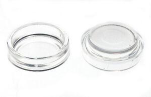 4X Transparente Castor Tazas Protector Suelo Desliza - Tamaño 6CM