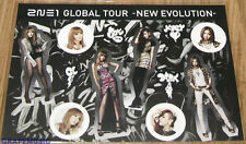 2NE1 I LOVE YOU OFFICIAL YG GOODS STICKERS NEW