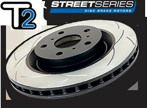 DBA504S DBA T2 Front Slotted BRAKE Rotors x 2 for Ford Falcon BA BF FG 298mm