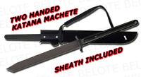 "Cold Steel Two Handed Katana Machete 40.5 "" 35oz. With Cor-Ex Sheath 97THKLS NEW"