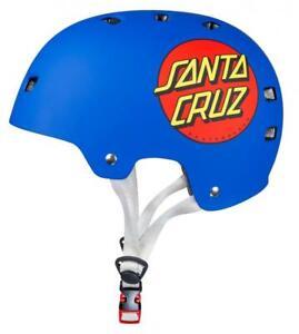 Bullet x Santa Cruz Helmet Classic Dot, Blue