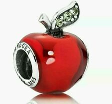 Authentic Pandora Charm Snow White'S Apple RED Enamel 791572EN73