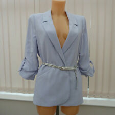 BNWT River Island blue blazer sz 10 UK