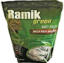 Ramik Green Bait Packs RAT MICE 4 lb Bag (contains 16  x 4 oz packs) (116341)