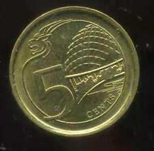 SINGAPOURE 5 cents  2014