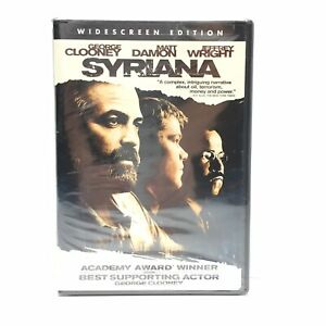 Syriana (DVD, 2006, Widescreen) NEW