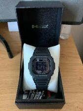 FULLY BOXED CASIO G-SHOCK GW-M5610-1BJF WATCH JAPANESE MARKET NEGATIVE DISPLAY