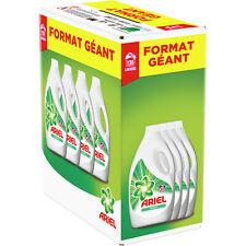 Lessive liquide original ARIEL lot de 4 bidons d'1,65L 4X30 lavages DESTOCKAGE