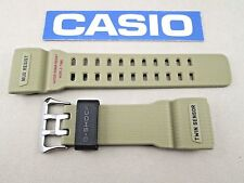 Genuine Casio G-Shock Mudmaster GG-1000-1A5 tan resin watch band strap