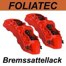 FOLIATEC BREMSSATTELLACK ROSSO ROT Bremssattel Lack Farbe 2160 Audi - KOMPLETSET