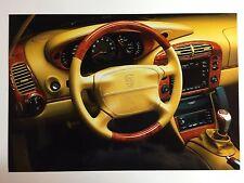 """1999 Porsche 911 Carrera B&W Press Factory Issued Photo """"Werkfoto"""" RARE!!"""