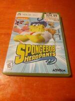 SpongeBob HeroPants Microsoft Xbox 360 Activision , Nickelodeon