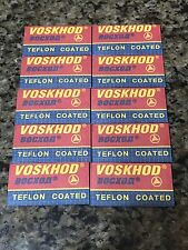 10 Voskhod Double Edge DE Razor Shaving Blades U.S.A Seller!!