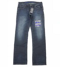 Affliction Jeans Men Size 32 Grant Standard Tulsa A4G Limited Police Edition