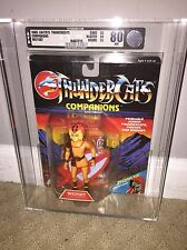 AFA 80 Thundercats 1986 LJN Wilykat Good Companion Clear Bubble (C80 B80 F90) NM