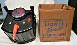 Vintage LIONEL Trainmaster Type-KW TRANSFORMER Whistle Control Orig Box AS SHOWN