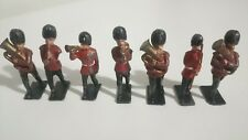 Britains Vintage Lead Guards Military Band Soldiers