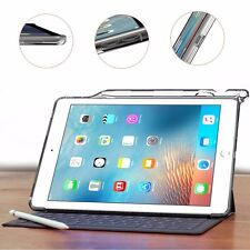 For iPad Pro 9.7 with Pencil Holder and Apple Smart Keyboard Compatibility Case