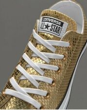 Womens Converse chuck Taylor trainers shoes Size 6 Gold All Star 6 Bnwot