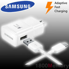 GENUINE Samsung Travel Adapter Fast Charger USB C 15W AFC fo Galaxy S8 S9 + Plus