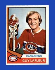 1974-75 O-Pee-Chee Set Break #232 Guy Lafleur EX-EXMINT *GMCARDS*