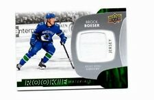 2017-18 UPPER DECK ROOKIE JERSEY BROCK BOESER (40.00 BECKETT BOOK VALUE)