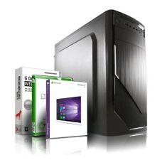 Gamer PC System AMD Ryzen 3 3200G 8GB DDR4 512GB SSD Windows 10 Komplett Rechner
