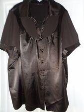 Evans ladies brown short sleeved blouse size 30
