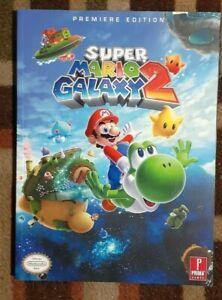 Super Mario Galaxy 2 Prima Official Strategy Game Guide + Mini Poster