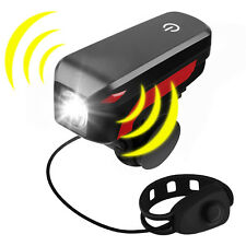 With Electric Horn USB Rechargeable LED Bicycle Headlight Bike Head lamp Light