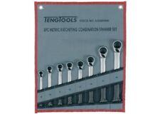 Juego 8 llaves combinadas con carraca reversible TENGTOOLS 6508RMM