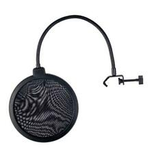 Anti Spray Cover Recording Studio Microphone Pop Filter Mic Wind Screen Double r