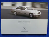Mercedes-Benz E-Klasse Limousinen E 430 E55 AMG W210 - Prospekt Brochure 05.2000
