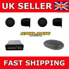 Steelmate EBAT PTSC1 Matt Black Rear Parking Sensors For Car Van Reverse Sensors