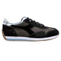 DIADORA HERITAGE Scarpe Sneakers da Uomo EQUIPE 42 41 evo nero grigio casual