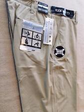 COOL KEEP Mens Flex Technology Neo Oxford Slim Straight Fit Pants BEIGE 36x30