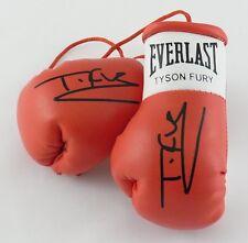 Autografiada Mini Guantes De Boxeo Tyson Fury