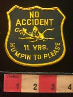 Campbell 66 Express Inc. Truck Patch 11 Years No Accident Missouri Trucking 68PP