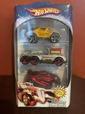 2008 Hot Wheels HOLIDAY HOT RODS Triple the Gift!