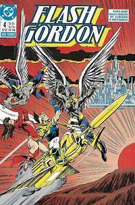 Flash Gordon Comic 4 Copper Age First Print 1988 DC Jurgens Patterson Workman .