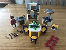 Playmobil Huge Modern Kitchen Set Lot!