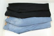 Lot of 4 Jeans - Levis 555 & Riders by Lee - Relax and Tapered Womans Denim Pant