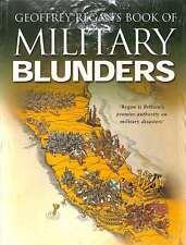 Geoffrey Regan's Book of Naval Blunders & Military Blunders, Excellent Condition