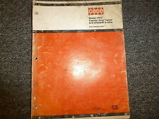 Case 2470 Traction King 4Wd Tractor Parts Catalog Manual Book S/N 8762940-After