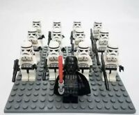12x Storm Trooper Mini Figures (LEGO STAR WARS Compatible)