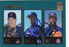 RAFAEL SORIANO PASCUAL COCO SIGNED 2001 CARD SEATTLE MARINERS YANKEES BLUE JAYS