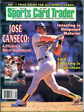 Sports Card Trader Magazine January 1992 Jose Canseco EX 080916jhe
