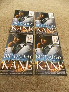 BIG DADDY KANE LOT OF 4 ORIG PROMO POSTCARDS FROM SHOW AT BB KING'S BLUES CLUB