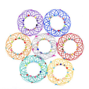 Magic Mandala Flower Basket Toy Relieve stress and anxiety Hand Kids Adults